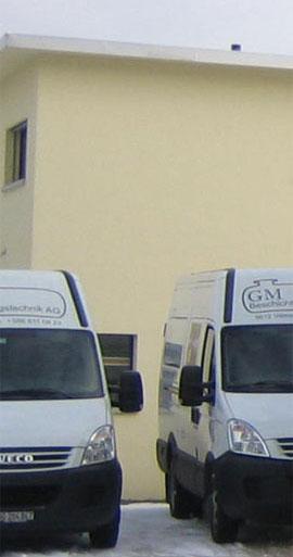 Fahrzeuge der GM Beschichtungstechnik